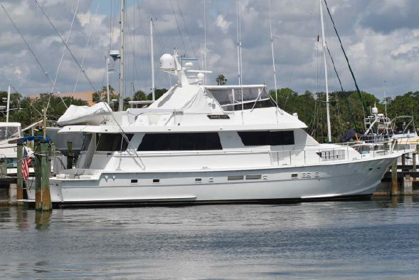74' Hatteras CPMY - $390,000 Port Canaveral, FL